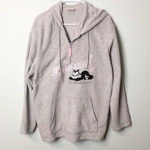 Looney Tunes women sweatshirt hoodie Penelope cat